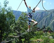 Suspension Rope Park Blatten