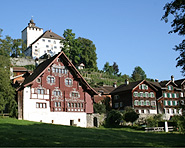 Palace and village of Werdenberg
