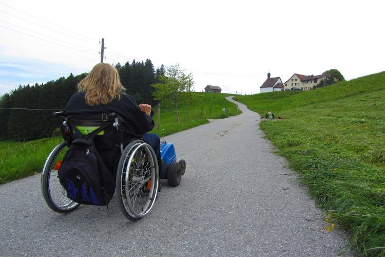 Steigung in Grauenstein