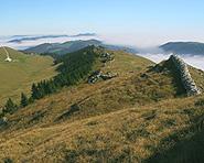 Le sommet du Parc régional Chasseral