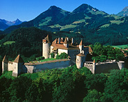 Château de Gruyères et sa vieille ville