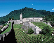 Die drei Unesco Schlösser von Bellinzona