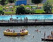 Outdoor swimming baths Widnau