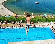 Swimming pools Nid-du-Crô in Neuchâtel