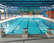 Du Rocher indoor swimming pool in Nyon