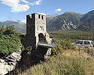 Le pont sur la Dalaschlucht