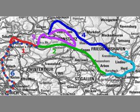 Svizzera, Austria e Germania 2012