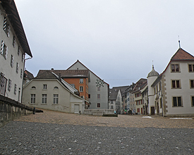 Wasserschloss und Biberfrass