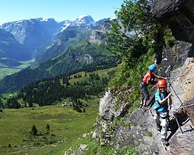 Klettersteig Nähe Zürich : Via ferrata klettersteige veloland