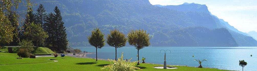 Plage de brienz schweiz mobil wanderland - Lac de brienz ...