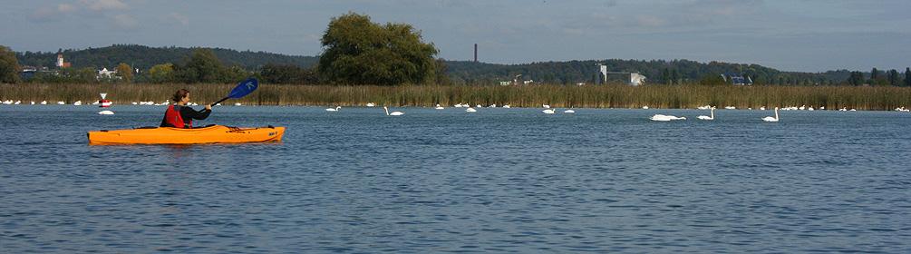 30 Bodensee Kanu